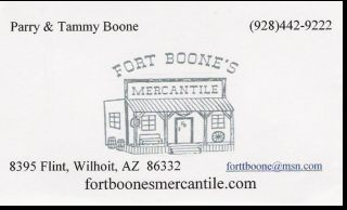 Fort Boone's Mercantile