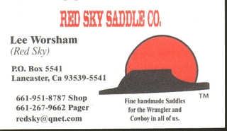 Red Sky Saddles
